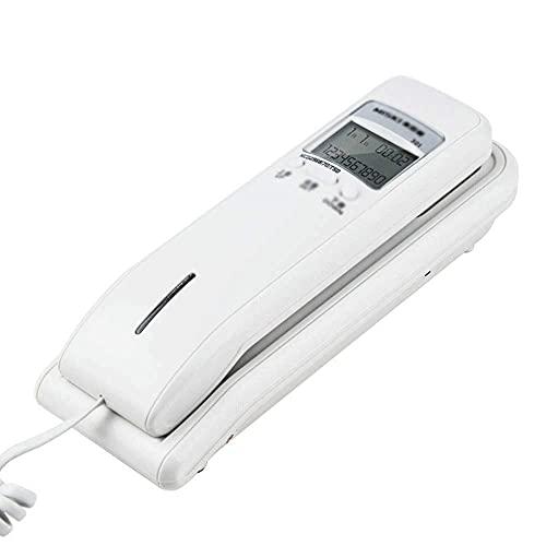 LDDZB Teléfono, teléfono fijo retro estilo occidental, con almacenamiento dital, montaje en pared, función de reducción de ruido para el hogar y la oficina (color: B) (color: B) (color: B) (color: B)