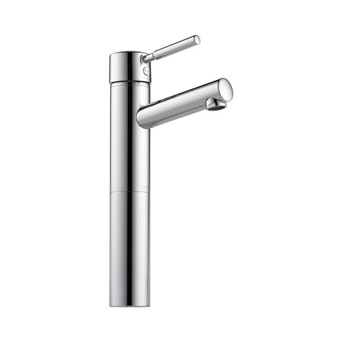 Brizo 65414LF-PC Quiessence Bathroom Faucet Vessel Single Handle with Metal Lever Handle, Chrome