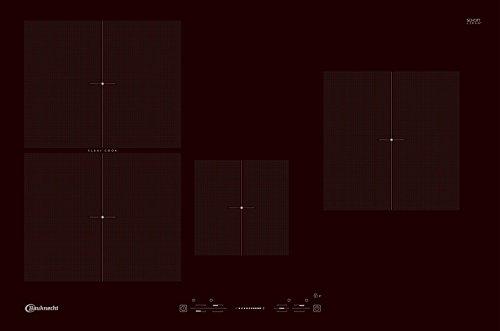 BAUKNECHT ESIF 6740 NE Induktions-Kochfeld / Autark / Rahmenlos / 77 cm / 4 Zonen
