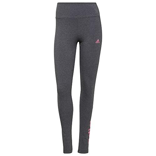 adidas Damen W LIN Leg, dgreyh/roston, H07783, Gr. XL