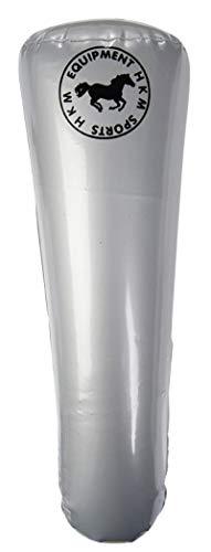 HKM Aufblasbar Lang Stiefelspanner, Silber, 43cm Größe