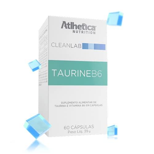 CleanLab Taurine B6 (60 caps), Atlhetica Nutrition