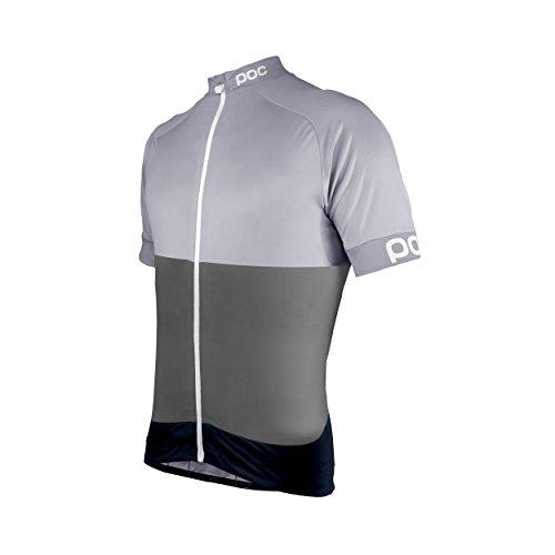 POC Fondo Classic, Maglia per Ciclismo Uomo, Phospite Grey, L