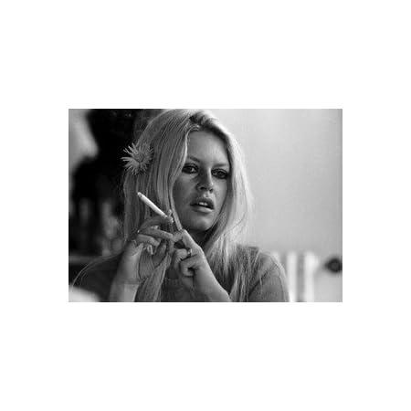 poster brigitte bardot zigarette