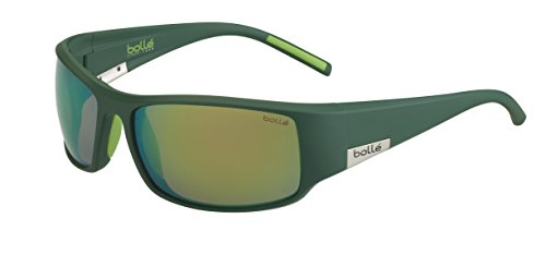 bollé Erwachsene King Sonnenbrille, Mono Green Matte, Large