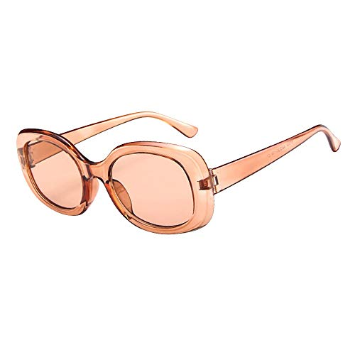 kolila Unisex Herren Damen Sonnenbrillen Brillen Sale Ausverkauf Vintage Retro Oval Form Großen Rahmen Strahlenschutz Sonnenbrille