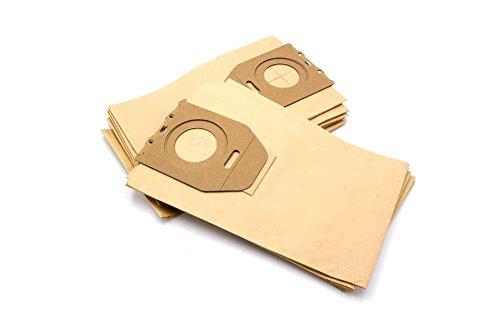 vhbw 10 bolsa papel para aspirador robot aspirador multiusos Philips HR 6020 Oslo, 6300, 6300-6800, 6301, 6302, 6303, 6304, 6305, 6306