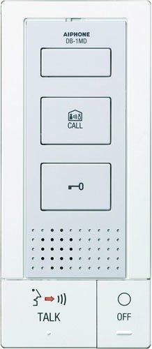 """Aiphone Corporation DB-1MD Tenant Master Station for DB Series, ABS Plastic Construction, 7-5/16"""" x 3-1/8"""" x 1-1/16"""""""