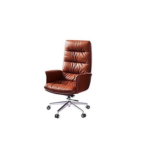 KJLY Jefe Presidente gerencial Ejecutivo sillas de Oficina Silla de Oficina ergonomía Respaldo Silla de computadora Silla de Cuero Silla giratoria Silla