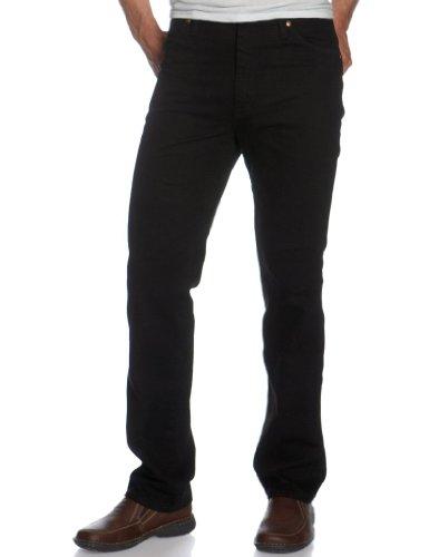 Wrangler Men's Cowboy Cut Slim Fit Jean, Shadow Black, 42x30