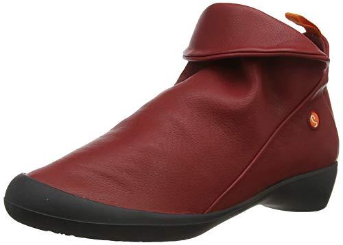 Softinos Damen Farah Stiefeletten, Rot (Red 558), 36 EU
