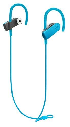 audio-technica SONICSPORT ワイヤレスイヤホン 防水/スポーツ向け Bluetooth リモコン/マイク付 ターコイズブルー ATH-SPORT50BT BL