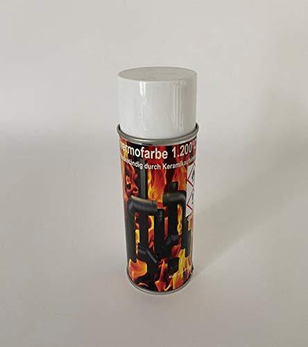 Ofenlack 1200°C Ofenspray Ofenfarbe Thermolack Kamin Grill Anthrazit Grau 400ml (ad-ideen)