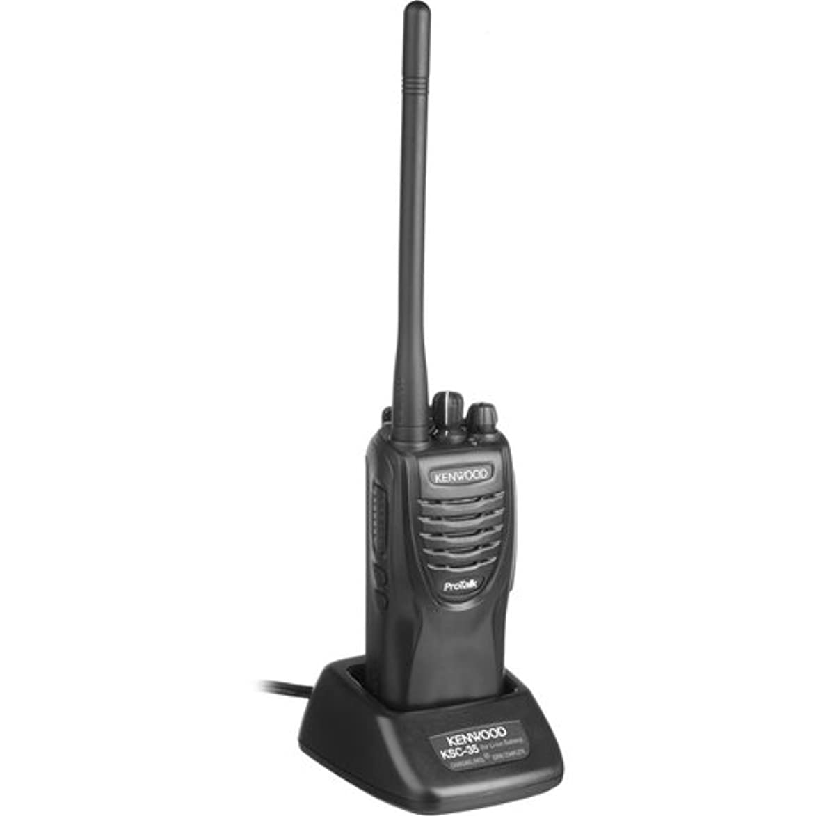 Kenwood ProTalk? TK-2300V4P 4 Channel model VHF 2 Watt Portable Business Radio, 27 VHF Pre-Programmed Frequencies