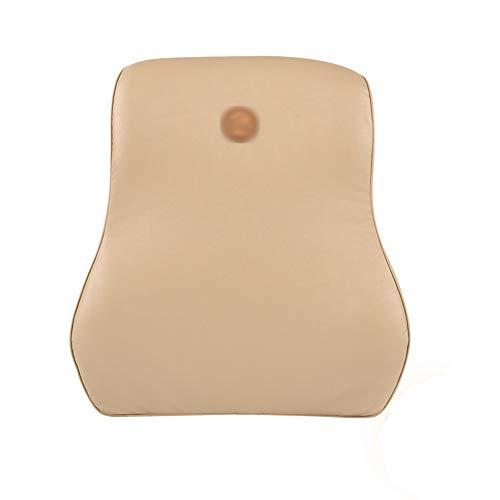 KTYX Almohada Lumbar Almohadilla de Soporte de Cintura Memoria Algodón Soporte de Cintura Almohada Soporte de Respaldo Almohada Coche Familia u Oficina Negro (Color : 1, Size : 31 * 13 * 44cm)