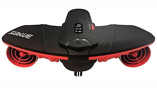 Underwater Electric Professional Scooter Profundidad de la cotera 40 m Funcionamiento 45 min Buceo Playa de Verano Vacaciones Mar Freestyle Adulto Rojo 845223 BJY969