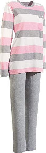 laritaM Erwin Müller Damen-Schlafanzug Single-Jersey rosé Größe 48/50