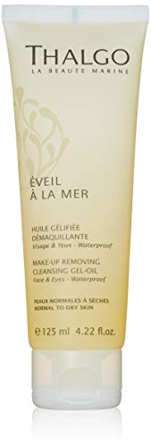 THALGO EVEIL A LA MER Cleansing Gel-Oil 125ML Unisex Adulto, Negro, Estándar
