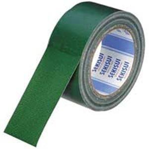 (業務用10セット)セキスイ 布テープ No600V N60MV03 50mm×25m 緑 ds-1460867