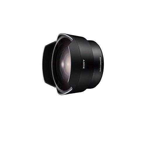Sony SEL057FEC, Fisheye-Vorsatzkonverter, E-Mount Vollformat, geeignet für das Objektiv Sony SEL-28F20 schwarz
