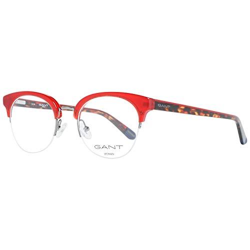 GANT GA4085 50066 Brillengestelle GA4085 066 Oval Brillengestelle 50, Rot