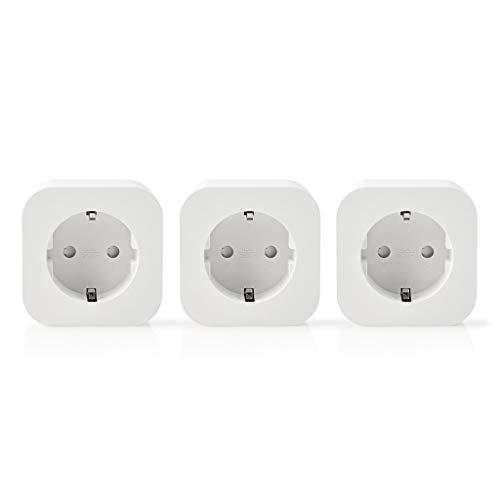 Nedis Prise Intelligente Smartlife - Wi-FI - Type F (CEE 7/7) - 2500 W - Plastique - Blanc