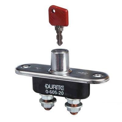 Durite Batterie Isolateur Interrupteur avec Amovible Clé sur / Arrêt Postes