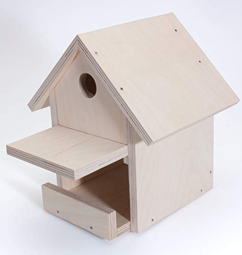 Pebaro 466 – Bastel Holzbauset Vogelhaus - 4