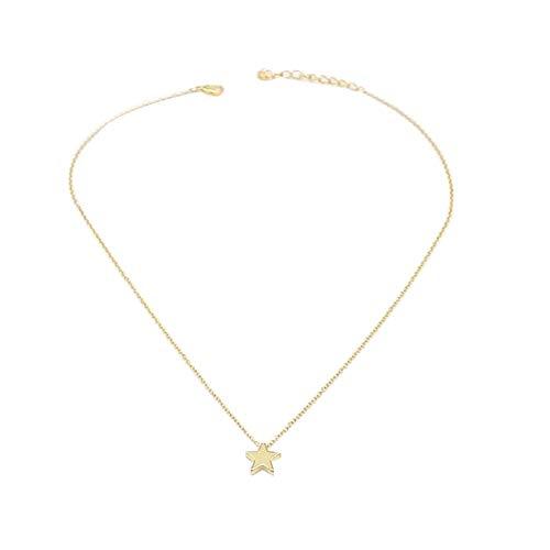 XdiseD9Xsmao Eenvoudig Ontwerp Kettingen voor Vrouwen Delicate Ster Hanger Ketting Sieraden Banket Party Decor Valentines Gift
