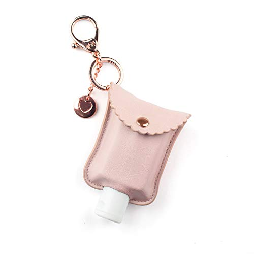 Price comparison product image Itzy Ritzy Hand Sanitizer Holder; Fits 2-Ounce Bottles of Hand Sanitizer (Not Included); Clips to Diaper Bag,  Purse or Travel Bag; Blush