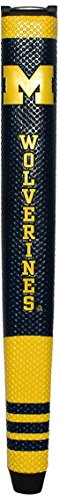 Team Golf NCAA Michigan Wolverines Golf Putter Grip with Removable Gel Top Ball Marker, Durable...