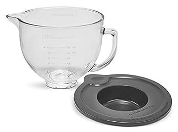 KitchenAid Stand Mixer Bowl 5 quart Glass with Measurement Markings