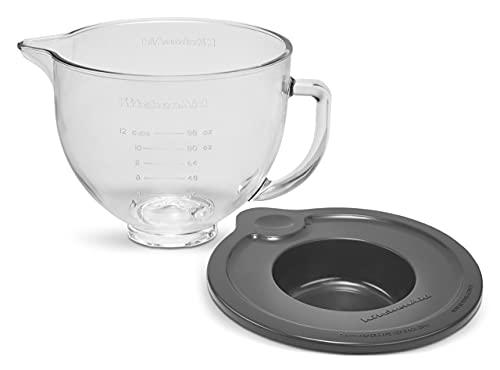 KitchenAid Stand Mixer Bowl, 5 quart, Glass with Measurement Markings