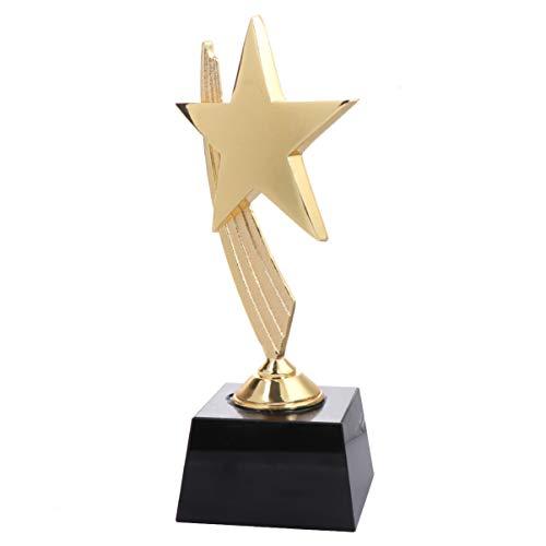 BESPORTBLE 1Pc Star Trophy Cups Ganador del Trofeo Deportivo Premios Premios Regalos de Fiesta Favores para Niños Torneos Deportivos Competiciones Fiestas