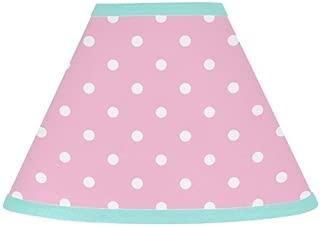 Sweet Jojo Designs Pink Polka Dot and Turquoise Skylar Baby, Childrens Lamp Shade