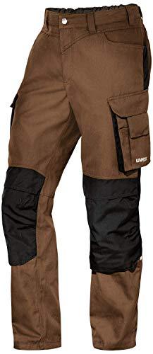 Uvex Perfexxion Premium 3852 Herren-Arbeitshose - Braune Männer-Cargohose 54