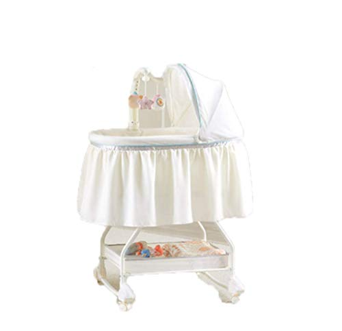 Draagbaar kinderbed – splittend groot bed, pasgeboren zijbed, Europees prinsesbedje, multifunctioneel babywiegbed, nachtbed, in één stap opvouwen.