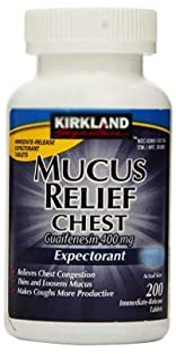 KIRKLAND SIGNATURE Mucus Relief - 200 Tablets
