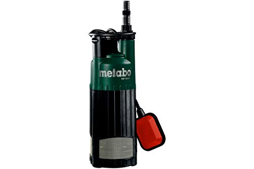 Metabo Kombi-Tauchpumpe TPS 16000 S Combi (0251600000) Karton, Nennaufnahmeleistung: 970 W, Max. Fördermenge: 16000 l/h, Max. Förderhöhe: 9.5 m