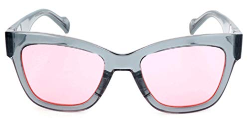 adidas Sonnenbrille AOG002 Rechteckig Sonnenbrille 52, Grau