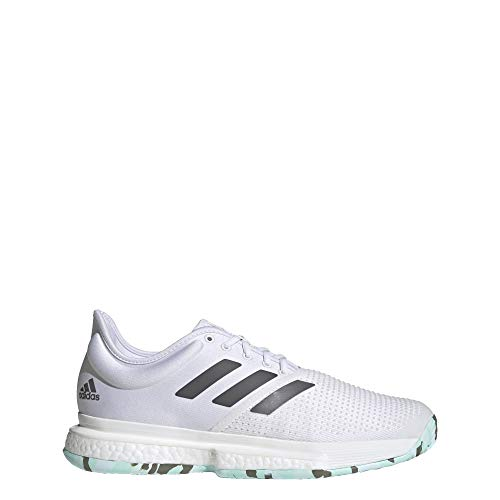 adidas SoleCourt Parley Shoes Men's, White, Size 13