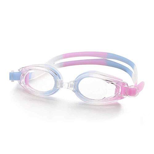Cfilet Swim óptica Gafas Suave y cómodo - Anti-Fog Protección UV - Mejor los anteojos - Adultos, Hombres o Mujeres (Color : B)