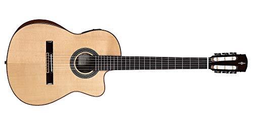 Alvarez CC7HCEAR Klassische Gitarre Concert Ibrida Schulter mit Armrest