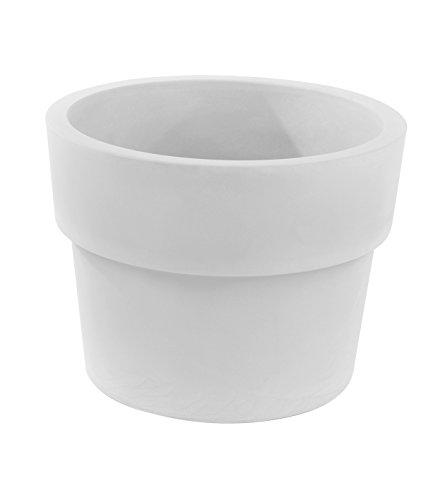 Vondom 40260 Vaso Simple, Blanco, 59x59x45 cm