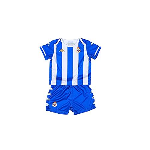 Kappa Primera equipación RC Deportivo de La Coruña 6 Meses Azul