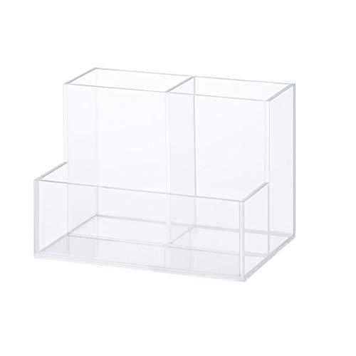 Boîte de Rangement d'organisateur de Maquillage cosmétique étagère de Rouge à lèvres de Bureau boîte de Papeterie FANJIANI (Size : Three Grid)