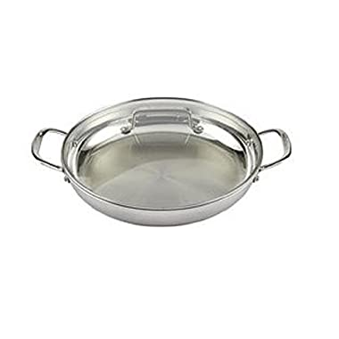 Cuisinart MCP25-30DCH MultiClad Pro 12 Everyday Pan w/Glass Cover