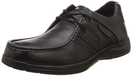 Woodland Men's Black Leather Sneaker-9 UK/India (43 EU) (GC 1098111WS)