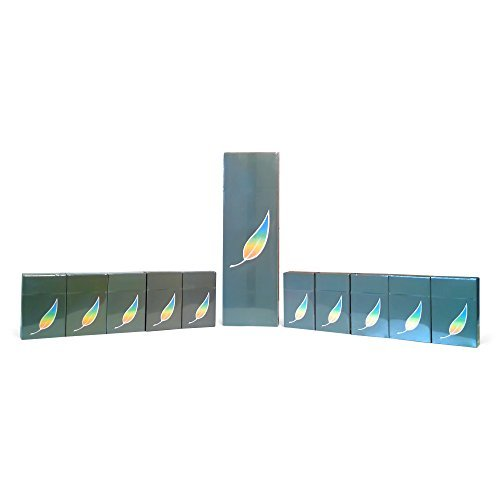 American Billy -Regular Carton Green Tea Herbal Cigarettes (Regular Flavor) (Sold by The Carton) -Non Tobacco - Non Nicotine Cigarette Alternatives