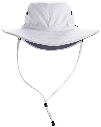 Coolibar UPF 50+ Men's Leo Shapeable Wide Brim Hat -...